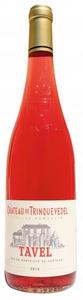 Château De Trinquevedel Tavel Rosé 2012, Ac Bottle