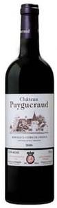 Château Puygueraud 2009, Ac Côtes De Francs Bottle