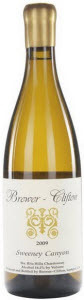 Brewer Clifton Chardonnay Sweeney Canyon Vineyard 2010, Santa Rita Hills, Santa Barbara, Calfornia Bottle
