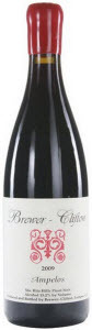 Brewer Clifton Pinot Noir Ampelos Vineyard 2010, Santa Rita Hills, Santa Barbara, Calfornia Bottle