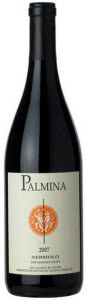 Palmina Santa Barbara County Nebbiolo 2007, Santa Barbara, California Bottle