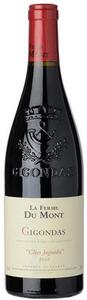 La Ferme Du Mont Côtes Jugunda Gigondas 2010, Ap Bottle