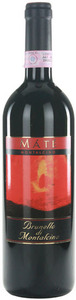 Máté Brunello Di Montalcino 2006, Docg, Estate Btld. Bottle