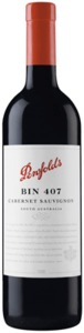 Penfolds Bin 407 Cabernet Sauvignon 2009, South Australia Bottle