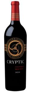 California Red   Cryptic 2010 Bottle
