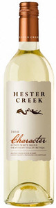 Hester Creek Character Estate White Blend 2011, BC VQA Okanagan Valley Bottle