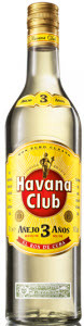 Havana Club Anejo 3 Anos, Cuba Bottle