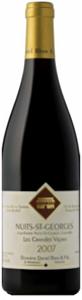 Nuits St Georges   Dom Daniel Rion Les Grands Vignes 2010 Bottle