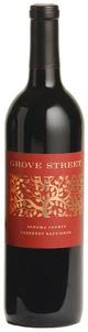Grove Street Cabernet Sauvignon 2010, Sonoma County Bottle