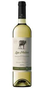 Las Mulas Sauvignon Blanc Reserva 2012 Bottle