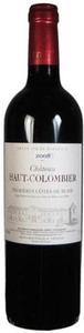 Château Haut Colombier 2009, Ac Côtes De Bordeaux   Blaye Bottle