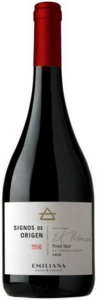 Emiliana Signos De Origen Pinot Noir 2011, Casablanca Valley Bottle