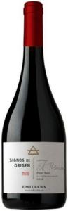 Emiliana Signos De Origen Pinot Noir 2011, Casablanca Valley Bottle