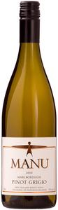 Manu Pinot Grigio 2012, Marlborough Bottle