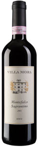 Villa Mora Montefalco Sagrantino 2006, Docg, Unfiltered Bottle