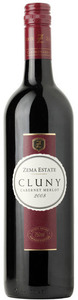 Zema Estate Cluny Cabernet/Merlot 2008, Coonawarra, South Australia Bottle