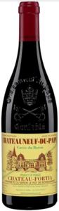 Château Fortia Cuvée Du Baron Châteauneuf Du Pape 2010, Ac (375ml) Bottle