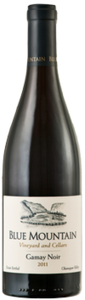 Blue Mountain Gamay Noir 2011, Okanagan Valley Bottle