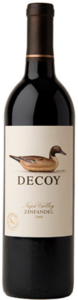 Decoy Zinfandel 2010, Sonoma County Bottle