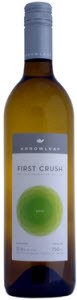 Arrowleaf First Crush White 2010, BC VQA Okanagan Valley Bottle