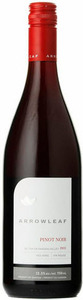 Arrowleaf Pinot Noir 2009, BC VQA Okanagan Valley Bottle