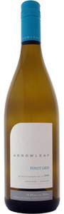 Arrowleaf Pinot Gris 2012, BC VQA Okanagan Valley Bottle
