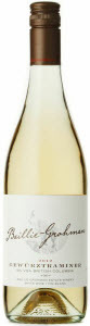 Baillie Grohman Gewurztraminer 2012, BC VQA British Columbia Bottle