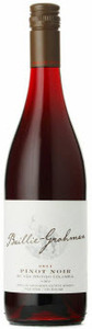 Baillie Grohman Pinot Noir 2011, BC VQA British Columbia Bottle