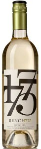 Bench 1775 Chill 2012, BC VQA Okanagan Valley Bottle