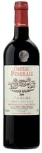 Château Pineraie Cahors 2009, Ac Bottle