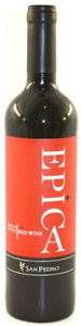 San Pedro Epica Red 2011 Bottle