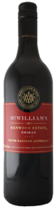 Mcwilliam's Hanwood Estate Shiraz 2010, Southeastern Australia Bottle