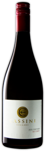 Cassini Pinot Noir Red Carpet 2012, BC VQA Okanagan Valley Bottle