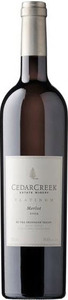 CedarCreek Platinum Merlot 2007, BC VQA Okanagan Valley Bottle