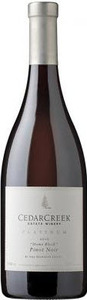 CedarCreek Platinum 'home Block' Pinot Noir 2010, BC VQA Okanagan Valley Bottle