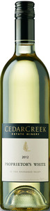 CedarCreek Proprietor's White 2012, BC VQA Okanagan Valley Bottle