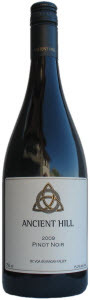 Ancient Hill Pinot Noir 2009, BC VQA Okanagan Valley Bottle