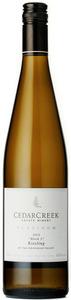 "CedarCreek Riesling Platinum ""Block 3"" 2012, BC VQA Okanagan Valley Bottle"