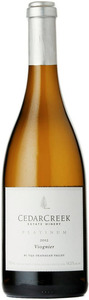 CedarCreek Platinum Viognier 2012, BC VQA Okanagan Valley Bottle