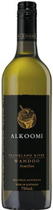 Alkoomi Wandoo Semillon 2005, Frankland River Bottle