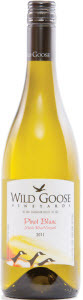 Wild Goose Pinot Blanc Mystic River 2011, BC VQA Okanagan Valley Bottle