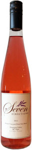 Seven Directions Kalala Vineyard Pinot Noir Rosé 2012, BC VQA West Kelowna, BC VQA Okanagan Valley Bottle
