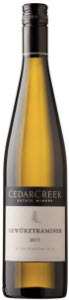 CedarCreek Gewurztraminer 2012, BC VQA Okanagan Valley Bottle