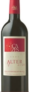 Domaine Cazes Alter De Cazes 2007, Ac Côtes Du Roussillon Villages Bottle