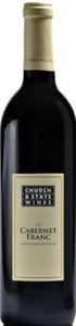 Church & State Cabernet Franc 2010, BC VQA Okanagan Valley Bottle