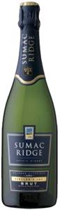 Sumac Ridge Steller's Jay Brut Sparkling Wine 2004, BC VQA Okanagan Valley, British Columbia, Méthode Classique Bottle