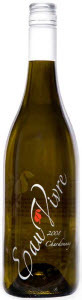 Eau Vivre Chardonnay 2009, BC VQA Similkameen Valley Bottle