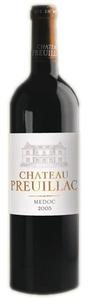 Château Preuillac 2009, Ac Médoc Bottle