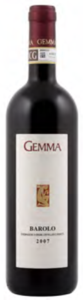 Gemma Barolo 2008, Docg Bottle
