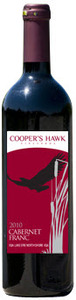 Cooper's Hawk Cabernet Franc Reserve 2010, VQA Lake Erie North Shore Bottle